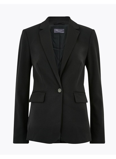 Marks & Spencer Tailored Fit Blazer Ceket Siyah